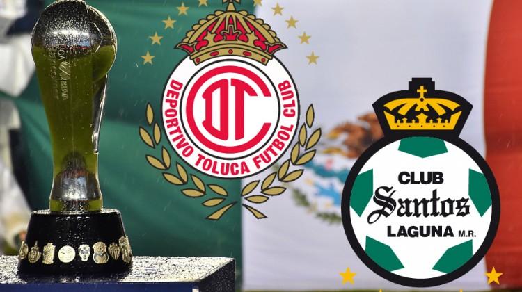 Toluca vs. Santos, final del Clausura 2018