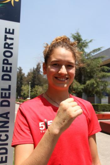 Paulina Armería se recupera de lesión y apunta a JCC Barranquilla 2018