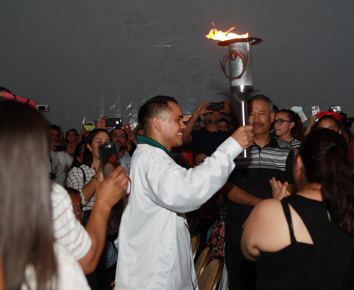 Inauguran la Olimpiada Nacional y Nacional Juvenil 2018