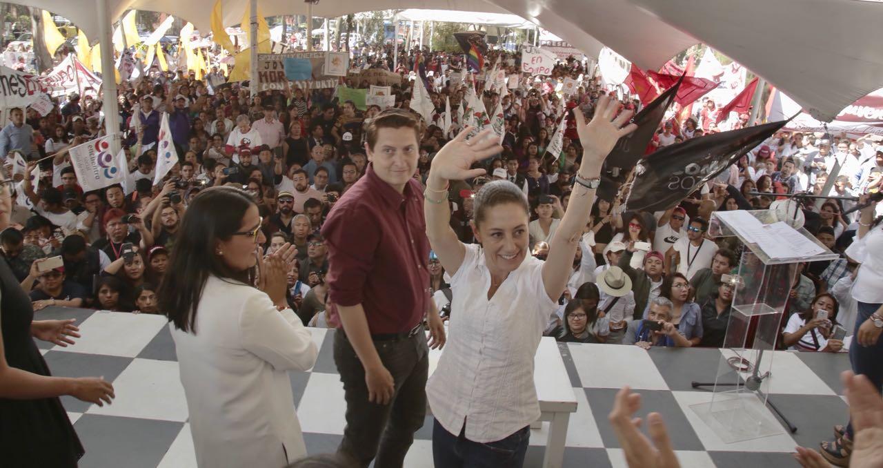 LA CIUDAD DE MÉXICO SERÁ INNOVADORA CON LA CREATIVIDAD DE LAS Y LOS  JÓVENES: SHEINBAUM