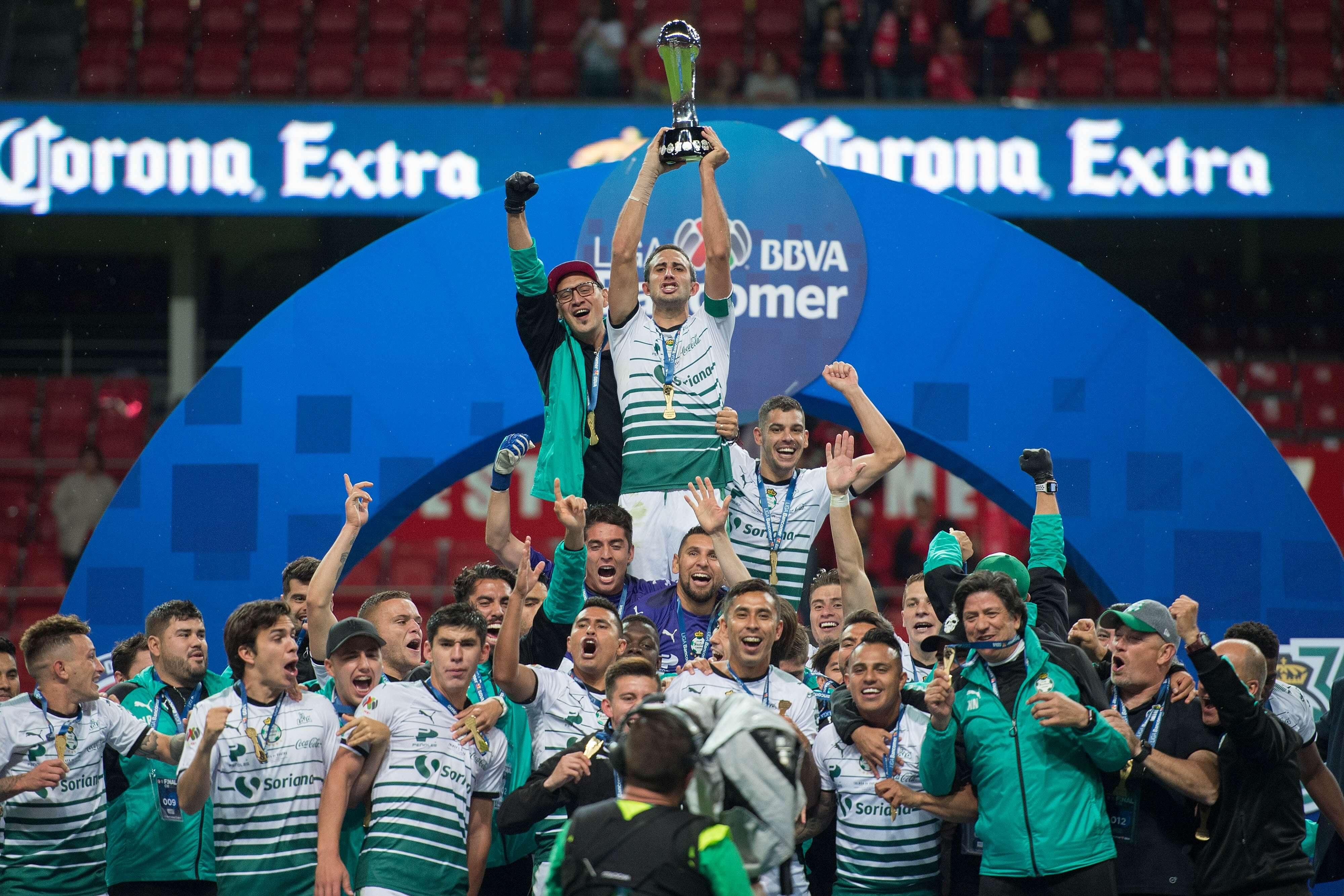 Santos campeón de la Liga MX