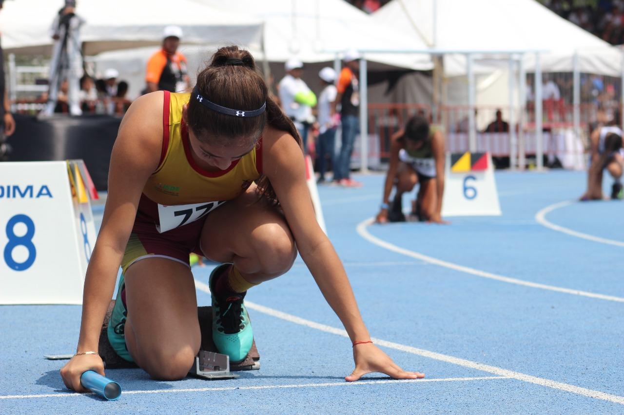 Destaca BC en segunda jornada de atletismo