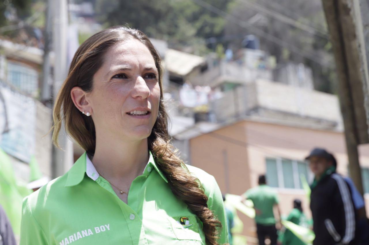 ASEGURA MARIANA BOY QUE LLEGARÁ AL FINAL DE LA CONTIENDA ELECTORAL DE LA MANO DE LOS CIUDADANOS