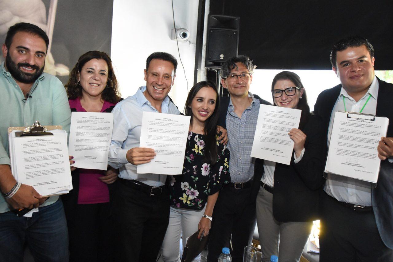 INVITACIÓN: CONFERENCIA DE PRENSA SOBRE EL DAÑO A BARRANCAS Y BOSQUE EN MIGUEL HIDALGO