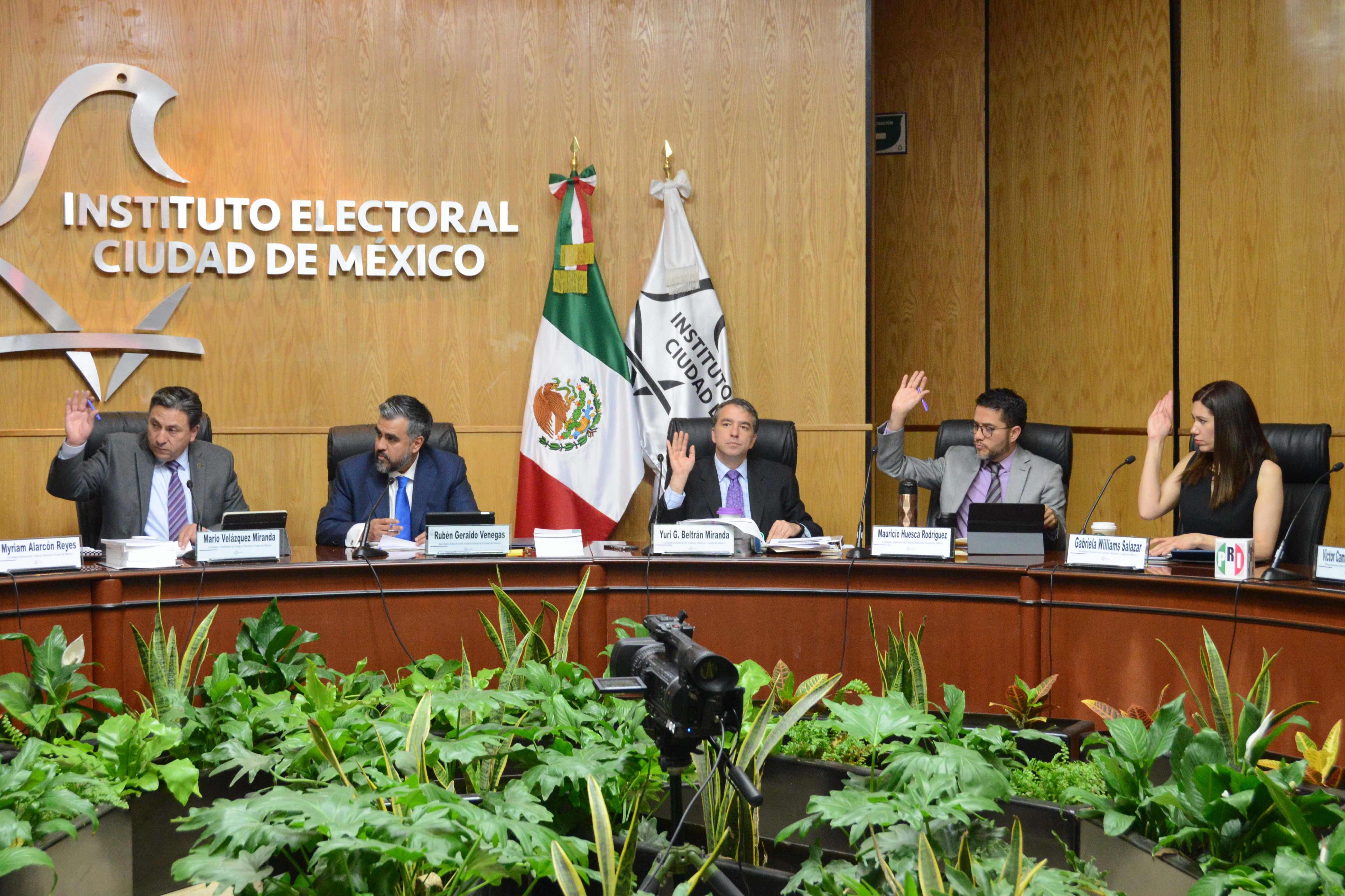 Alista IECM sedes distritales para recuento de votos