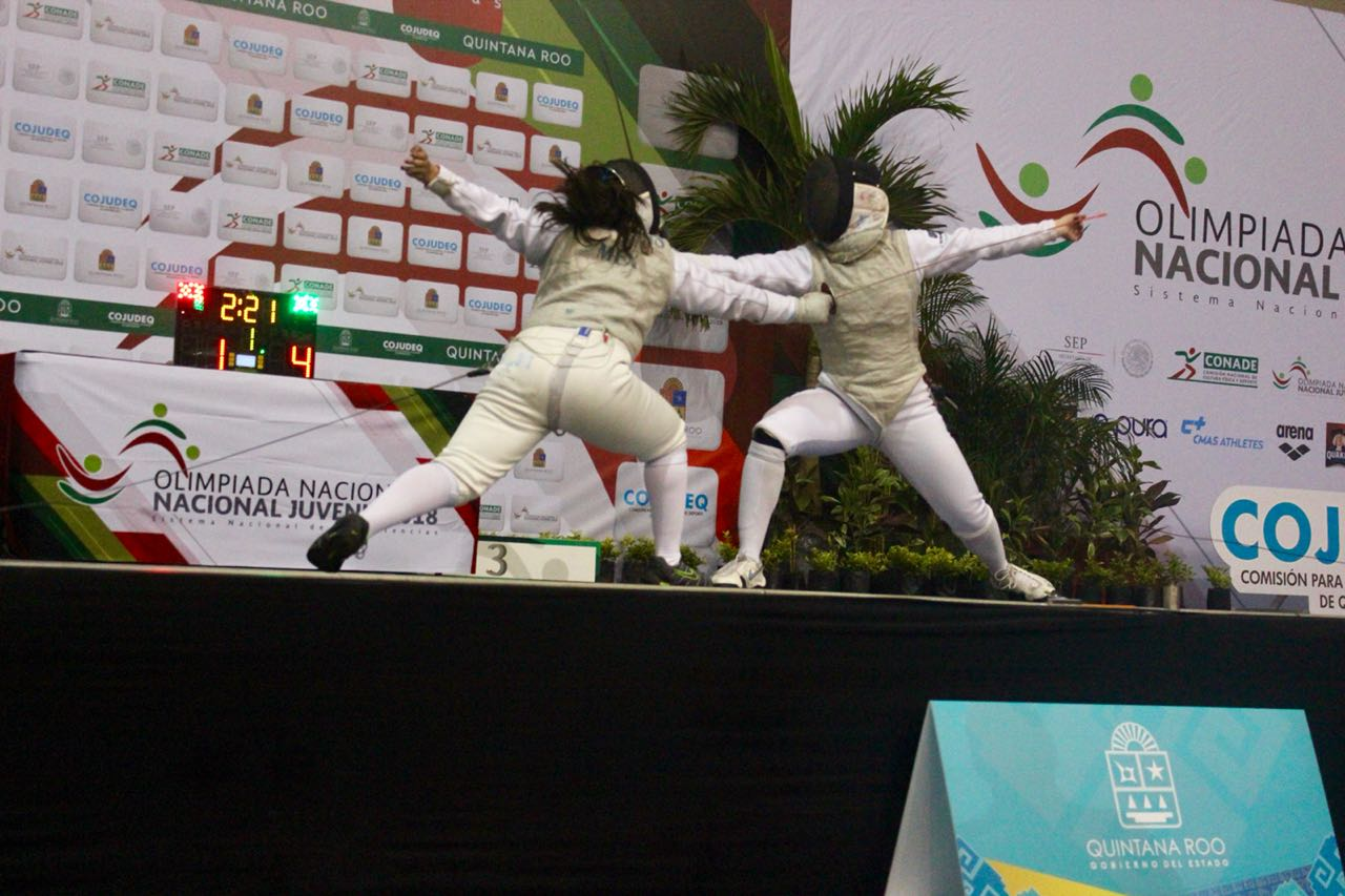 Baja California se coronó campeón de esgrima en el Nacional Juvenil 2018