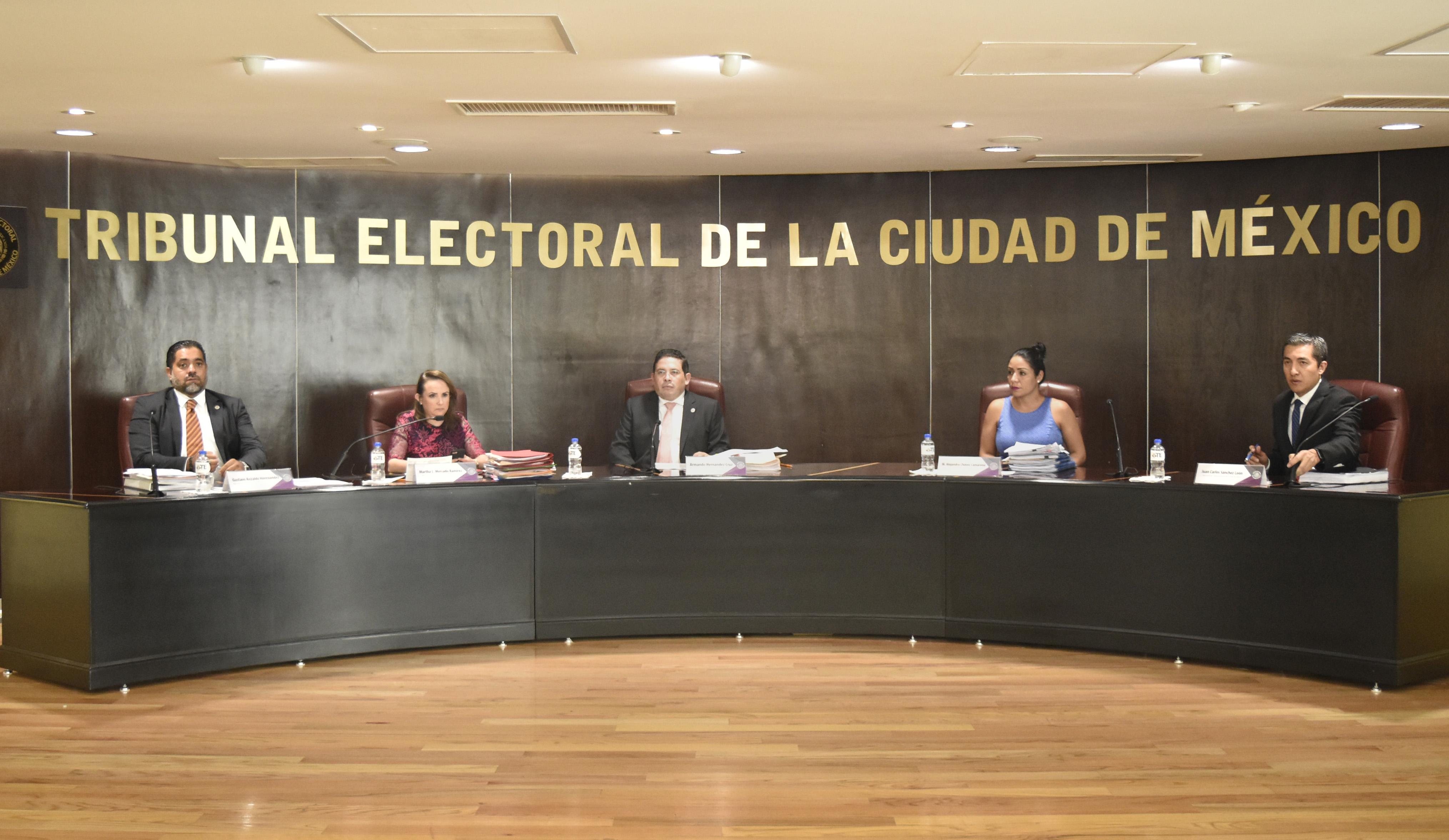 Declara TECDMX que Leonel Luna y Noria Arias no son responsables de contravenir la normativa electoral