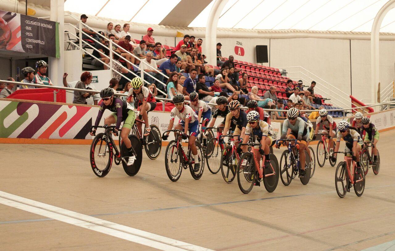 Ciclistas de pista disputaron últimas preseas en Olimpiada Nacional y Nacional Juvenil 2018