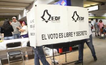 Acompaña GCDMX al INE con tareas de seguridad para la jornada electoral