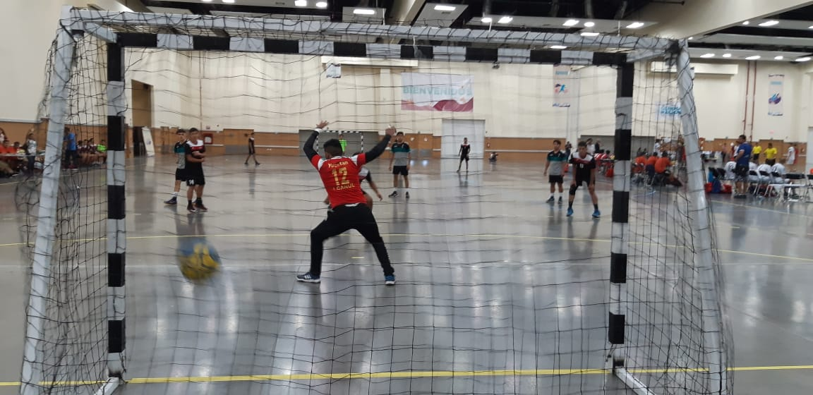 Inició la fiesta de handball en la Olimpiada Nacional y Nacional Juvenil 2018