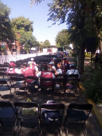 NIEGA PERMISO DELEGACIÓN VENUSTIANO CARRANZA PARA EVENTO MASIVO DE AMLO