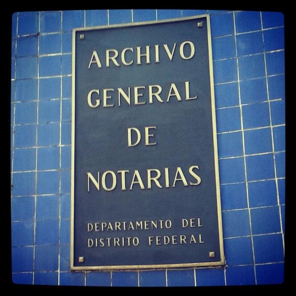 Avanza reapertura de servicios en Archivo General de Notarías
