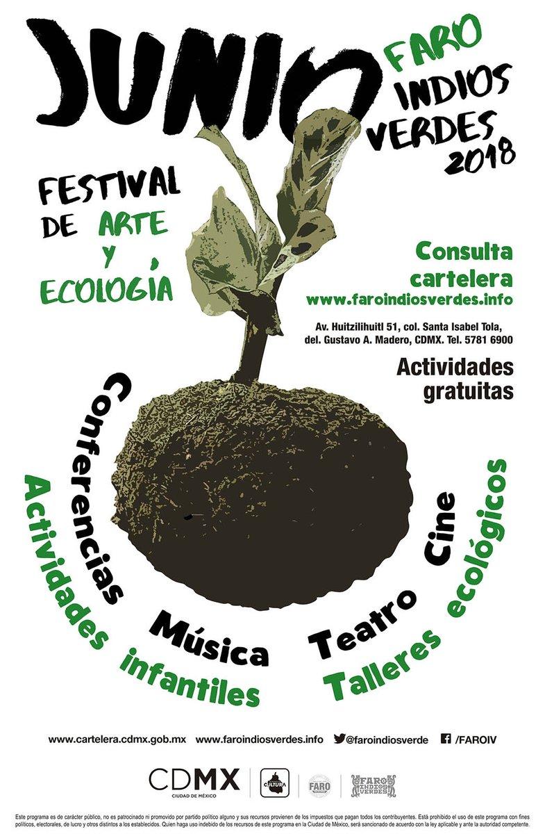 Organiza el Faro Indios Verdes Festival de Arte y Ecología por el Día Mundial del Medio Ambiente
