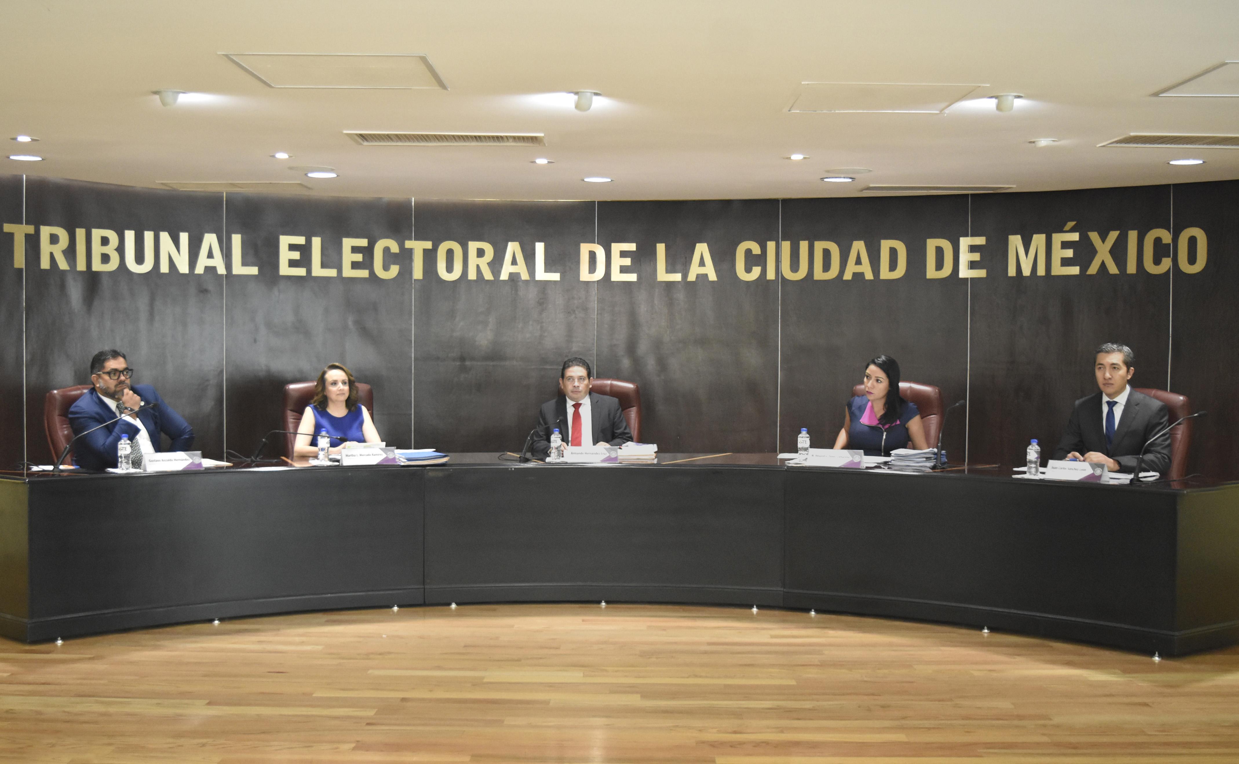 Resuelve TECDMX que no hubo infracciones a la normatividad electoral, al resolver diversos Procedimientos Especiales Sancionadores