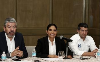 Presenta Barrales propuesta en materia de seguridad pública