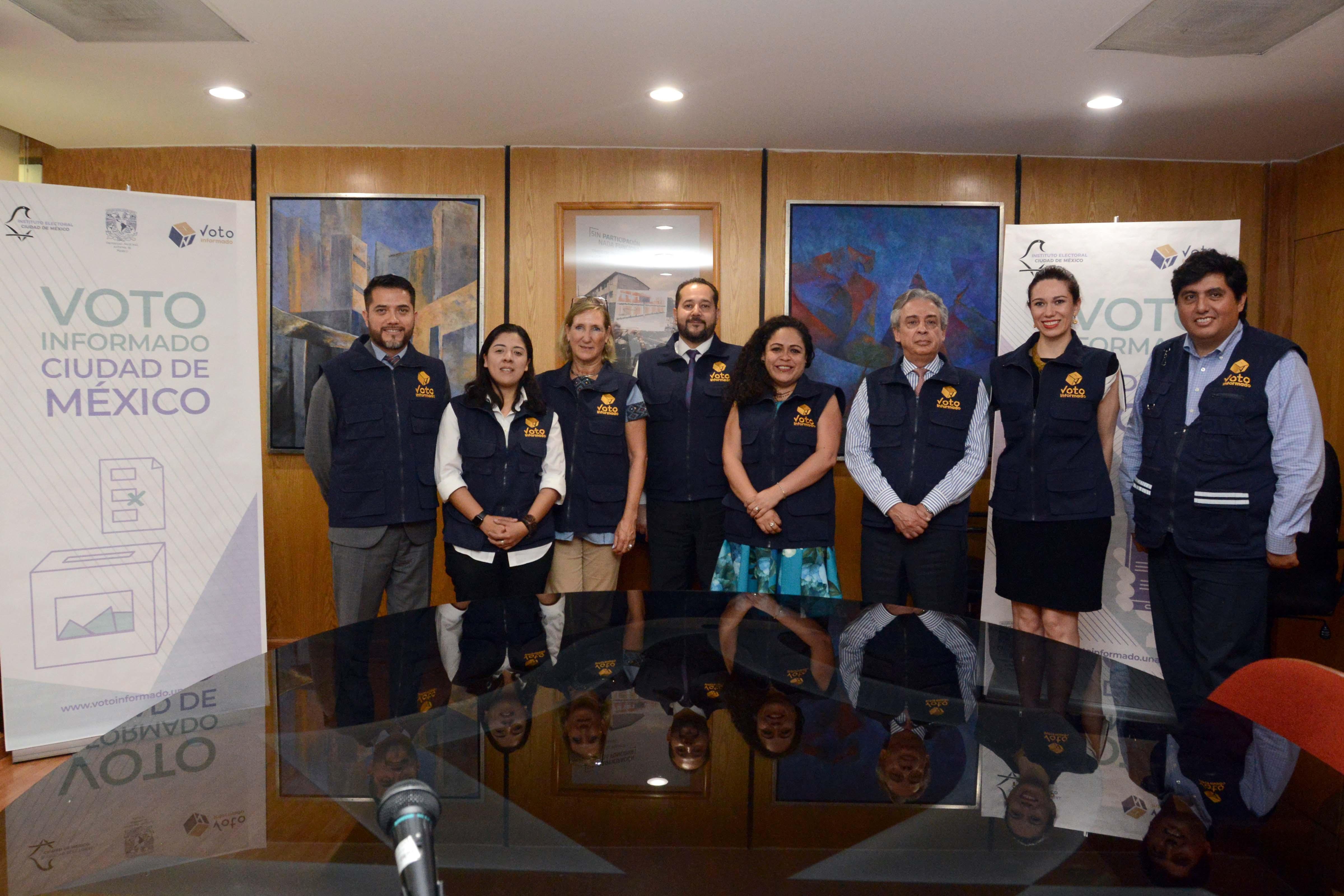 Impulsan IECM y UNAM Voto Informado 2018 en la CDMX, con plataforma digital
