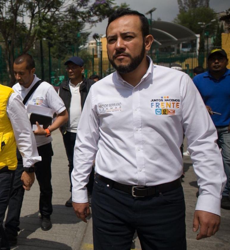 IMPULSARÉ UN ORDENAMIENTO DEL ESPACIO PÚBLICO PARA TENER UNA CIUDAD EN ARMONÍA: HÉCTOR SERRANO AZAMAR