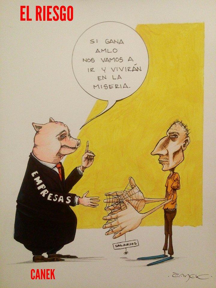 El Cartón Político por Canek Leyva
