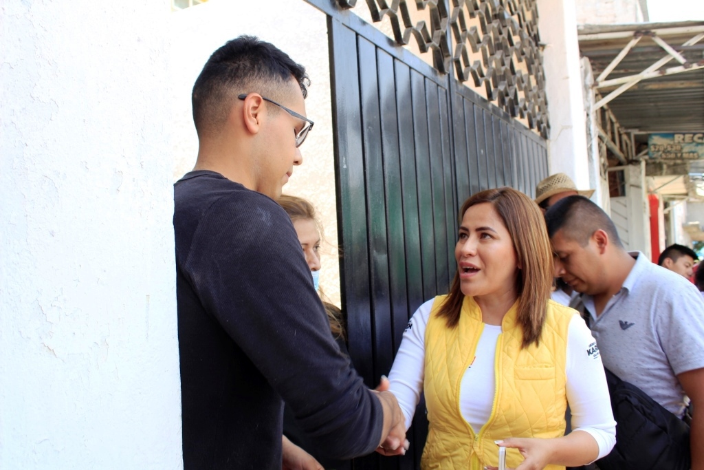 KAREN QUIROGA IMPULSARÁ PROGRAMA PARA PREVENIR EMBARAZO EN ADOLESCENTES DE IZTAPALAPA