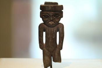 Concepción de mayas y mexicas en torno al sacrificio y la regeneración, en exposición