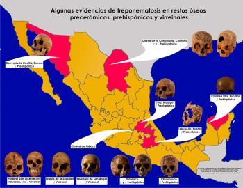 Exposición muestra evidencias de infecciones en restos óseos antiguos hallados en México