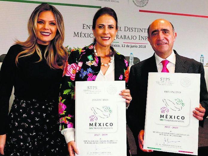 Recibe Sinaloa distintivo México sin Trabajo Infantil