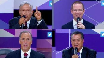 Candidatos piden el voto en el tercer debate