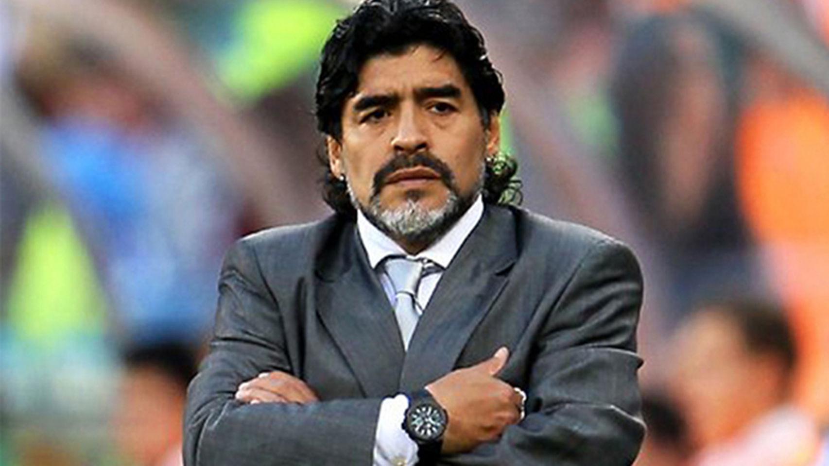 Critica Maradona la designación del Mundial 2026