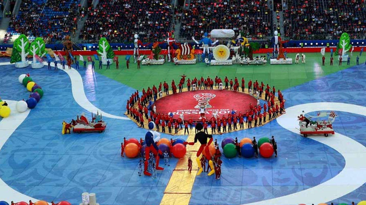 Rusia le da la bienvenida al Mundial