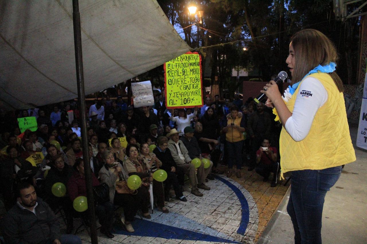 KAREN QUIROGA PROMUEVE PARTICIPACIÓN CIUDADANA PARA PROYECTOS DE LA ALCALDÍA