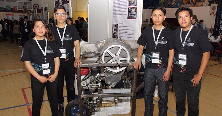 IPN crea máquina que optimiza trabajo de cosechas
