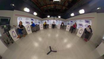 Realiza IECM tercer debate por la Jefatura de Gobierno, de cara a los comicios locales