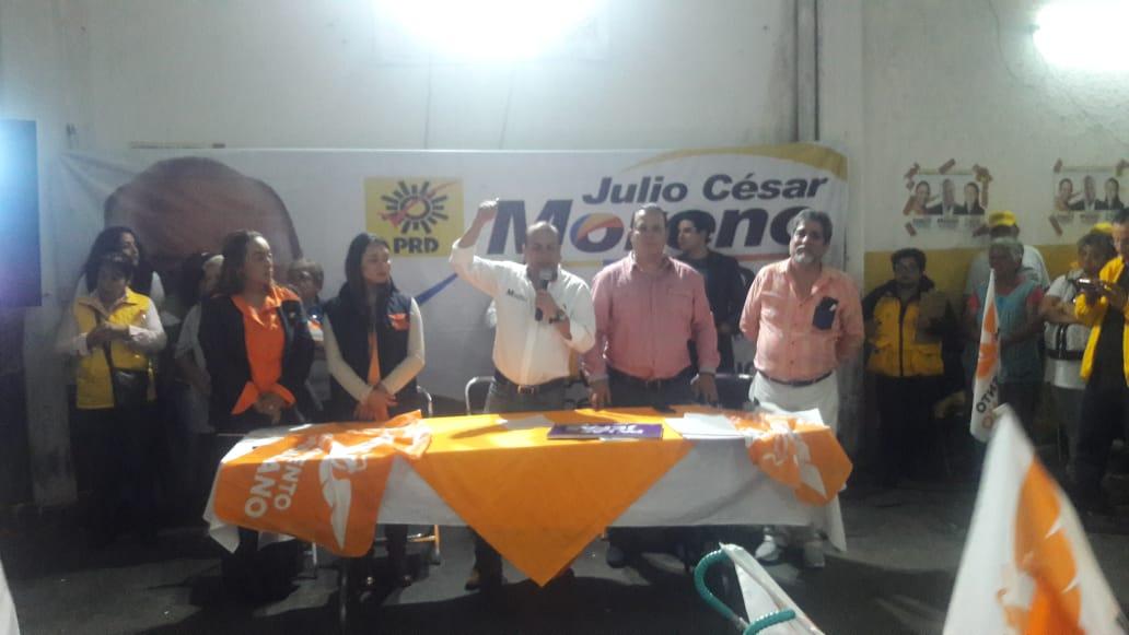 Movimiento Ciudadano en Venustiano Carranza se moviliza