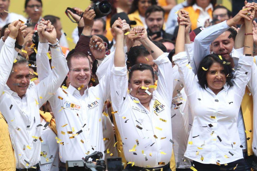 PRD convoca a cierre de campaña de la candidata del Frente, Alejandra Barrales, en el Ángel de la Independencia