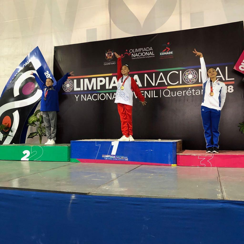Oro para Quintana Roo en Gimnasia Artística de ON y NJ 2018