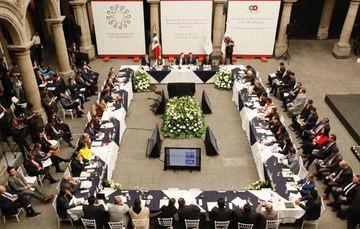 Instala la Conferencia Nacional de Gobernadores (Conago) la Comisión de Desarrollo Social y Pueblos Indígenas
