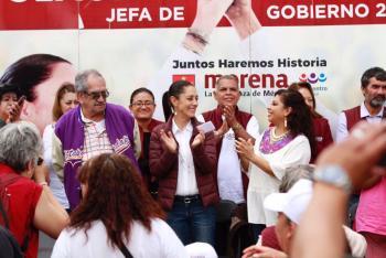 SHEINBAUM HACE COMPROMISO PARA RESCATAR EL CERRO DE LA ESTRELLA