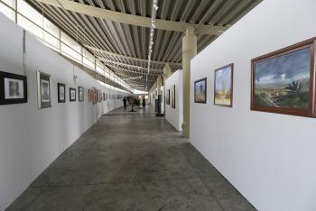 Faro de Oriente presenta muestra escultórica con obras de la SHCP y una puesta en escena para invidentes