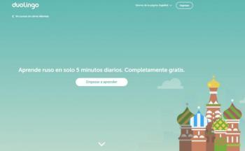 Lanza Duolingo curso de ruso para hablantes de español