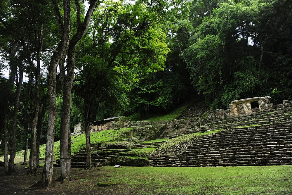 Retoman exploración arqueológica del meandro de la Zona Arqueológica de Yaxchilán, en Chiapas