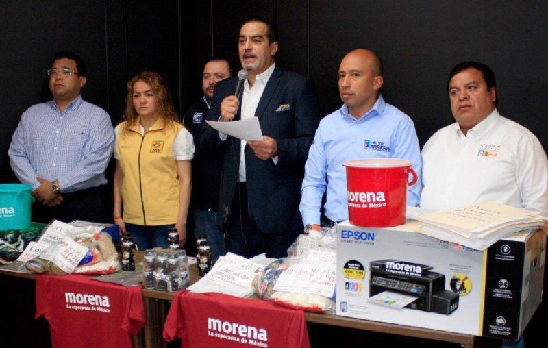 Denuncia El Frente compra de votos de Morena en Coyoacán