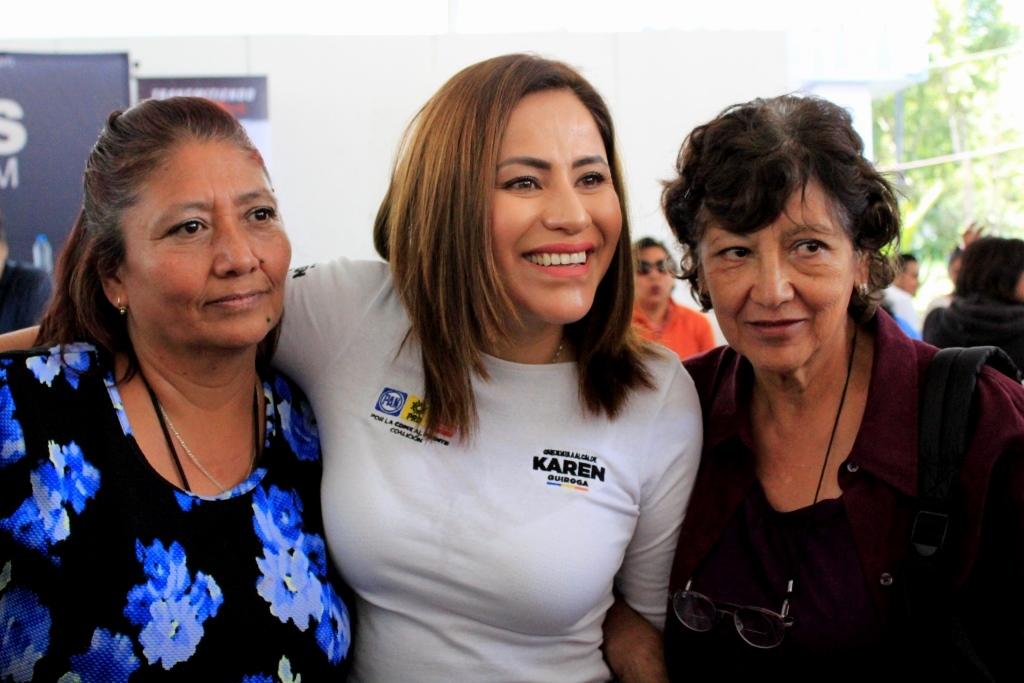 ALCALDÍA DE IZTAPALAPA VELARÁ POR  SEGURIDAD DE LAS MUJERES: KAREN QUIROGA