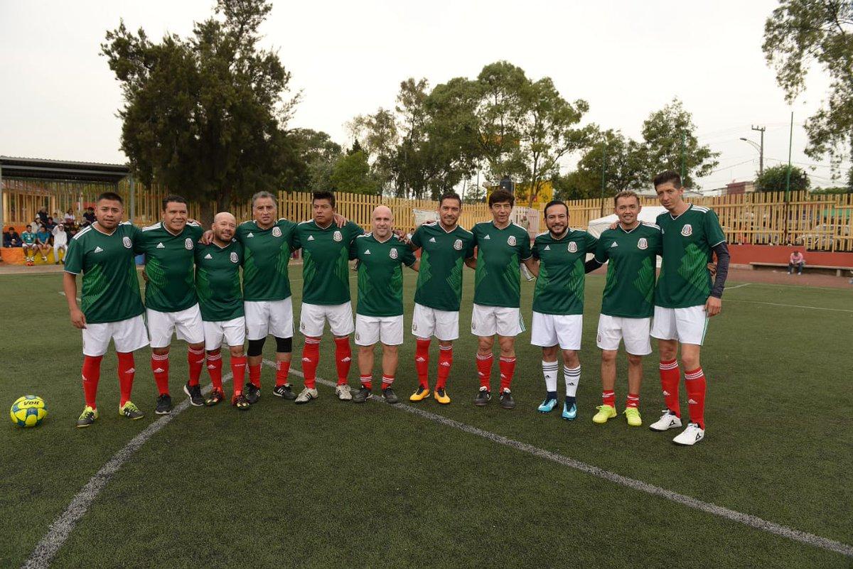 México 5 - Alemania 2  en Álvaro Obregón