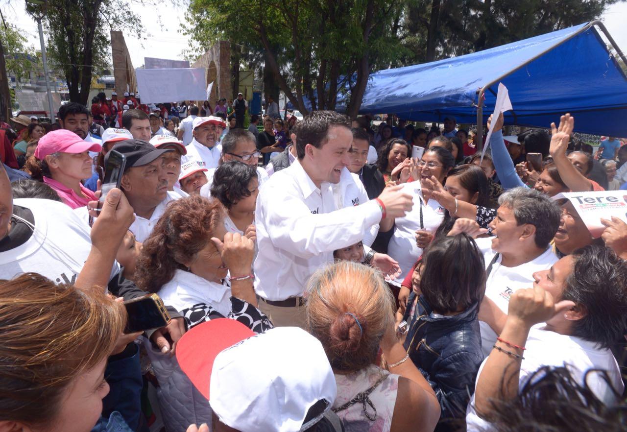 EN TLÁHUAC, MIKEL OFRECE PURGA DE NARCOS  DURANTE LOS PRIMEROS 3 MESES DE SU GOBIERNO