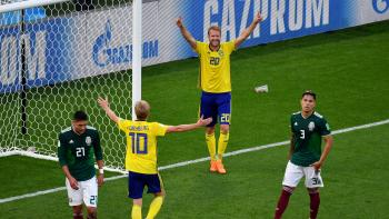 Pierde México ante Suecia pero pasa a octavos