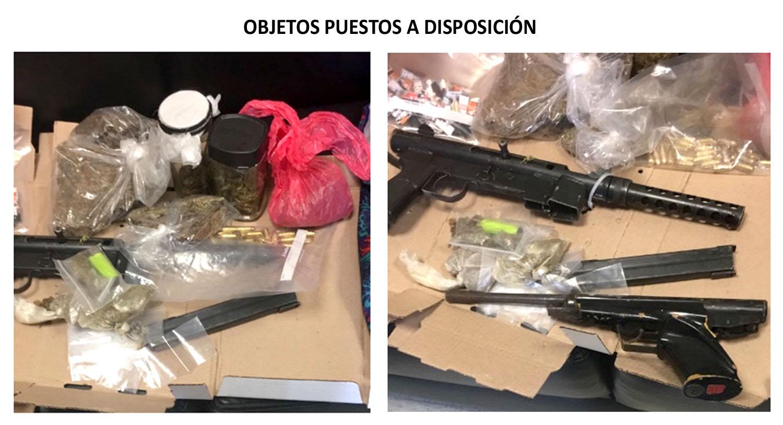 La PGJCDMX ejerció acción penal contra un hombre detenido con una subametralladora y droga