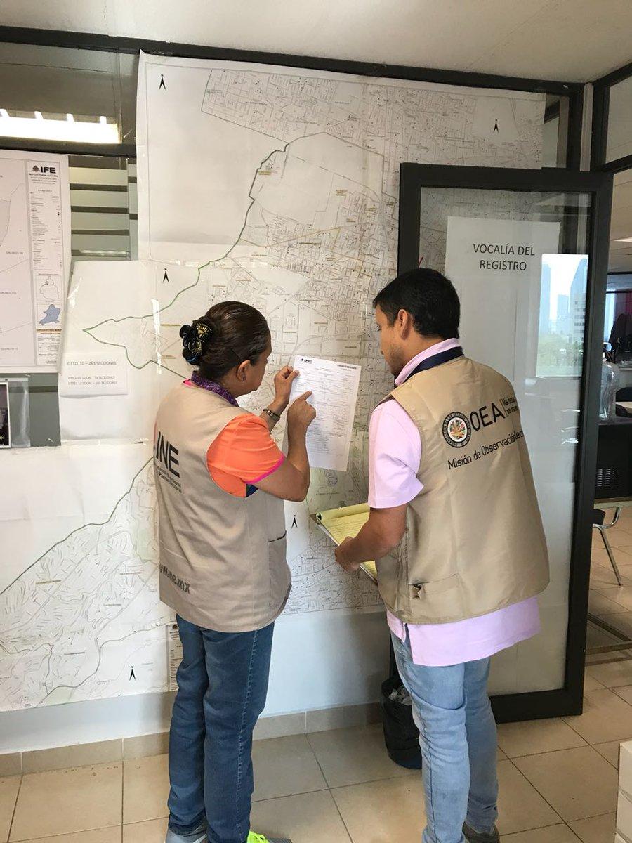 Misión de observación de la OEA acude al IECM y conoce aspectos relevantes de comicios en la Ciudad de México