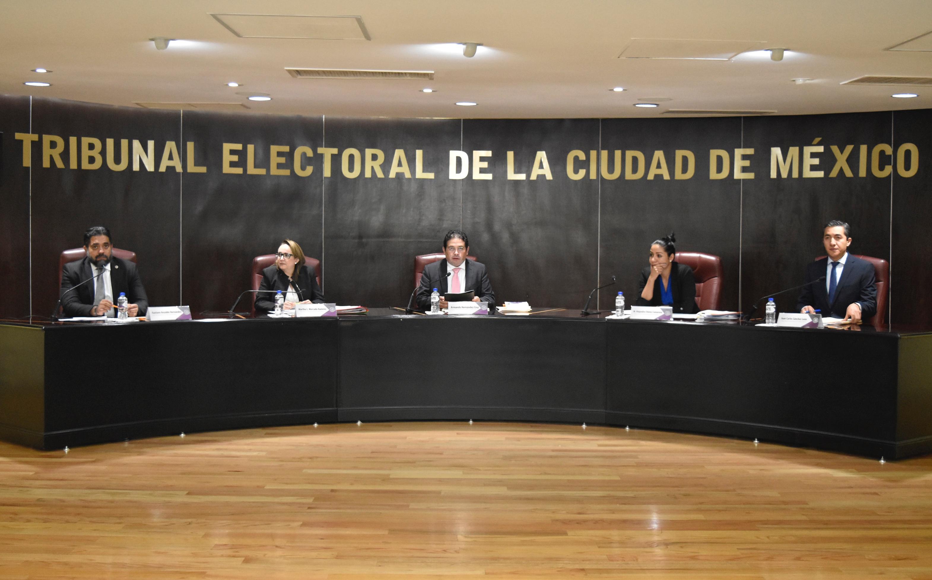 Declara TECDMX improcedente la renuncia de Dulce María Jurado Ávila a la candidatura
