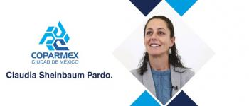 COPARMEX CDMX FELICITA A LA CIUDADANÍA Y SALUDA ELECCIÓN DE CLAUDIA SHEINBAUM