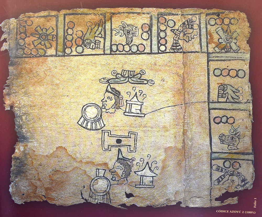 El INAH coedita facsimilar del Códice Azoyú 2 y pictografías coloniales de Guerrero